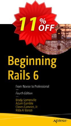 Beginning Rails 6 - Somerville  Coupon, discount Beginning Rails 6 (Somerville) Deal. Promotion: Beginning Rails 6 (Somerville) Exclusive Easter Sale offer for iVoicesoft