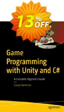 Game Programming with Unity and C# - Hardman  Coupon, discount Game Programming with Unity and C# (Hardman) Deal. Promotion: Game Programming with Unity and C# (Hardman) Exclusive Easter Sale offer for iVoicesoft