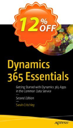 Dynamics 365 Essentials - Critchley  Coupon, discount Dynamics 365 Essentials (Critchley) Deal. Promotion: Dynamics 365 Essentials (Critchley) Exclusive Easter Sale offer for iVoicesoft