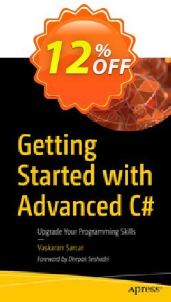 Getting Started with Advanced C# - Sarcar  Coupon, discount Getting Started with Advanced C# (Sarcar) Deal. Promotion: Getting Started with Advanced C# (Sarcar) Exclusive Easter Sale offer for iVoicesoft
