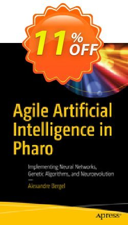 Agile Artificial Intelligence in Pharo - Bergel  Coupon, discount Agile Artificial Intelligence in Pharo (Bergel) Deal. Promotion: Agile Artificial Intelligence in Pharo (Bergel) Exclusive Easter Sale offer for iVoicesoft