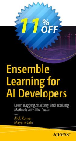 Ensemble Learning for AI Developers - Kumar  Coupon, discount Ensemble Learning for AI Developers (Kumar) Deal. Promotion: Ensemble Learning for AI Developers (Kumar) Exclusive Easter Sale offer for iVoicesoft