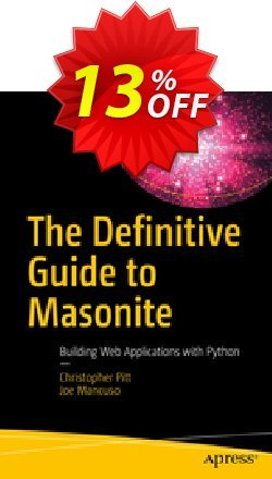 The Definitive Guide to Masonite - Pitt  Coupon, discount The Definitive Guide to Masonite (Pitt) Deal. Promotion: The Definitive Guide to Masonite (Pitt) Exclusive Easter Sale offer for iVoicesoft