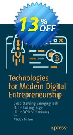 Technologies for Modern Digital Entrepreneurship - Turi  Coupon, discount Technologies for Modern Digital Entrepreneurship (Turi) Deal. Promotion: Technologies for Modern Digital Entrepreneurship (Turi) Exclusive Easter Sale offer for iVoicesoft