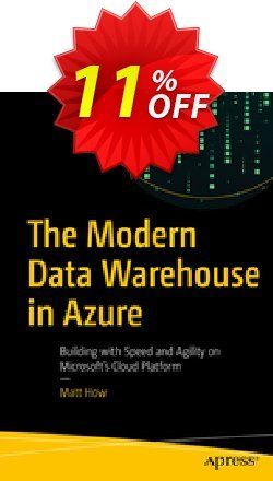 The Modern Data Warehouse in Azure - How  Coupon, discount The Modern Data Warehouse in Azure (How) Deal. Promotion: The Modern Data Warehouse in Azure (How) Exclusive Easter Sale offer for iVoicesoft