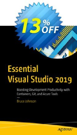 Essential Visual Studio 2019 - Johnson  Coupon discount Essential Visual Studio 2021 (Johnson) Deal. Promotion: Essential Visual Studio 2021 (Johnson) Exclusive Easter Sale offer for iVoicesoft