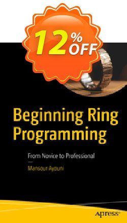 Beginning Ring Programming - Ayouni  Coupon, discount Beginning Ring Programming (Ayouni) Deal. Promotion: Beginning Ring Programming (Ayouni) Exclusive Easter Sale offer for iVoicesoft