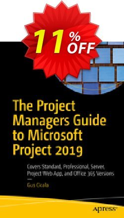The Project Managers Guide to Microsoft Project 2019 - Cicala  Coupon discount The Project Managers Guide to Microsoft Project 2021 (Cicala) Deal. Promotion: The Project Managers Guide to Microsoft Project 2021 (Cicala) Exclusive Easter Sale offer for iVoicesoft