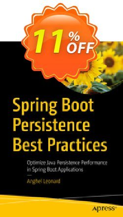 Spring Boot Persistence Best Practices - Anghel  Coupon, discount Spring Boot Persistence Best Practices (Anghel) Deal. Promotion: Spring Boot Persistence Best Practices (Anghel) Exclusive Easter Sale offer for iVoicesoft