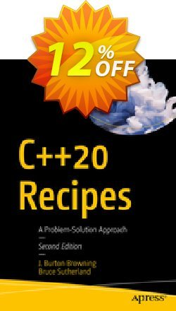 C++20 Recipes - Burton Browning  Coupon, discount C++20 Recipes (Burton Browning) Deal. Promotion: C++20 Recipes (Burton Browning) Exclusive Easter Sale offer for iVoicesoft
