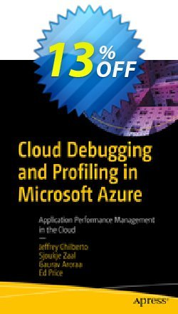 Cloud Debugging and Profiling in Microsoft Azure - Chilberto  Coupon, discount Cloud Debugging and Profiling in Microsoft Azure (Chilberto) Deal. Promotion: Cloud Debugging and Profiling in Microsoft Azure (Chilberto) Exclusive Easter Sale offer for iVoicesoft