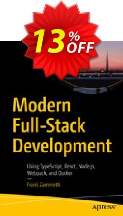 Modern Full-Stack Development - Zammetti  Coupon, discount Modern Full-Stack Development (Zammetti) Deal. Promotion: Modern Full-Stack Development (Zammetti) Exclusive Easter Sale offer for iVoicesoft
