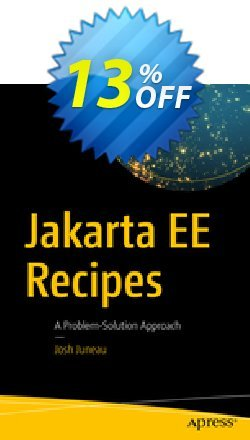 Jakarta EE Recipes - Juneau  Coupon, discount Jakarta EE Recipes (Juneau) Deal. Promotion: Jakarta EE Recipes (Juneau) Exclusive Easter Sale offer for iVoicesoft