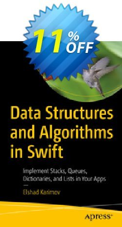 Data Structures and Algorithms in Swift - Karimov  Coupon, discount Data Structures and Algorithms in Swift (Karimov) Deal. Promotion: Data Structures and Algorithms in Swift (Karimov) Exclusive Easter Sale offer for iVoicesoft