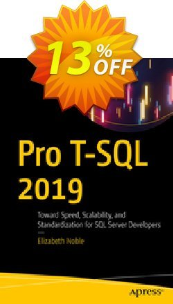Pro T-SQL 2019 - Noble  Coupon discount Pro T-SQL 2021 (Noble) Deal. Promotion: Pro T-SQL 2021 (Noble) Exclusive Easter Sale offer for iVoicesoft