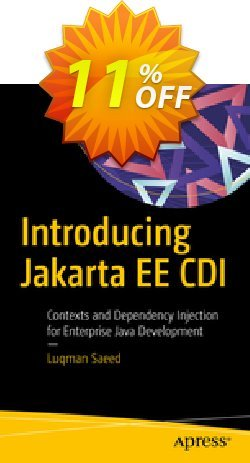 Introducing Jakarta EE CDI - Saeed  Coupon, discount Introducing Jakarta EE CDI (Saeed) Deal. Promotion: Introducing Jakarta EE CDI (Saeed) Exclusive Easter Sale offer for iVoicesoft