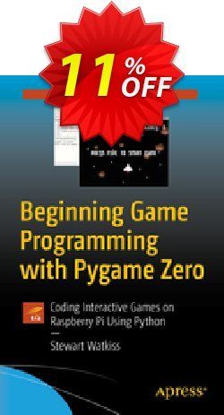 Beginning Game Programming with Pygame Zero - Watkiss  Coupon, discount Beginning Game Programming with Pygame Zero (Watkiss) Deal. Promotion: Beginning Game Programming with Pygame Zero (Watkiss) Exclusive Easter Sale offer for iVoicesoft