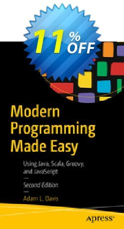 Modern Programming Made Easy - Davis  Coupon, discount Modern Programming Made Easy (Davis) Deal. Promotion: Modern Programming Made Easy (Davis) Exclusive Easter Sale offer for iVoicesoft