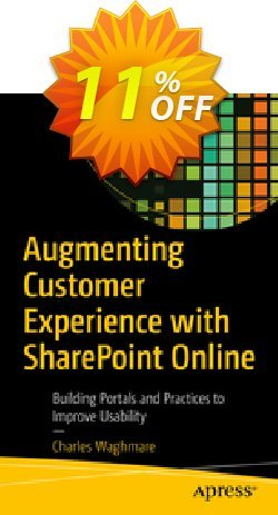 Augmenting Customer Experience with SharePoint Online - Waghmare  Coupon, discount Augmenting Customer Experience with SharePoint Online (Waghmare) Deal. Promotion: Augmenting Customer Experience with SharePoint Online (Waghmare) Exclusive Easter Sale offer for iVoicesoft