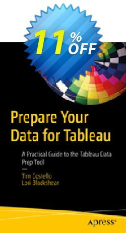 Prepare Your Data for Tableau - Costello  Coupon, discount Prepare Your Data for Tableau (Costello) Deal. Promotion: Prepare Your Data for Tableau (Costello) Exclusive Easter Sale offer for iVoicesoft