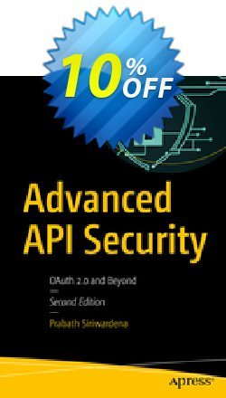 Advanced API Security - Siriwardena  Coupon, discount Advanced API Security (Siriwardena) Deal. Promotion: Advanced API Security (Siriwardena) Exclusive Easter Sale offer for iVoicesoft