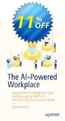 The AI-Powered Workplace - Ashri  Coupon, discount The AI-Powered Workplace (Ashri) Deal. Promotion: The AI-Powered Workplace (Ashri) Exclusive Easter Sale offer for iVoicesoft