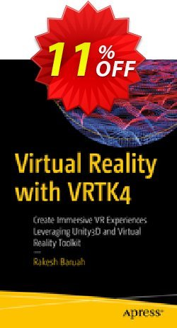 Virtual Reality with VRTK4 - Baruah  Coupon discount Virtual Reality with VRTK4 (Baruah) Deal - Virtual Reality with VRTK4 (Baruah) Exclusive Easter Sale offer for iVoicesoft
