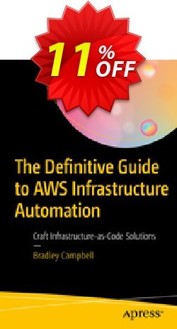 The Definitive Guide to AWS Infrastructure Automation - Campbell  Coupon, discount The Definitive Guide to AWS Infrastructure Automation (Campbell) Deal. Promotion: The Definitive Guide to AWS Infrastructure Automation (Campbell) Exclusive Easter Sale offer for iVoicesoft