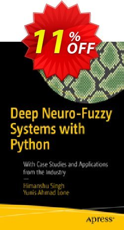 Deep Neuro-Fuzzy Systems with Python - Singh  Coupon, discount Deep Neuro-Fuzzy Systems with Python (Singh) Deal. Promotion: Deep Neuro-Fuzzy Systems with Python (Singh) Exclusive Easter Sale offer for iVoicesoft