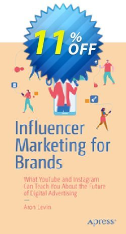 Influencer Marketing for Brands - Levin  Coupon, discount Influencer Marketing for Brands (Levin) Deal. Promotion: Influencer Marketing for Brands (Levin) Exclusive Easter Sale offer for iVoicesoft