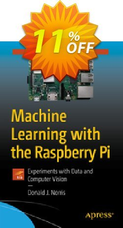 Machine Learning with the Raspberry Pi - Norris  Coupon, discount Machine Learning with the Raspberry Pi (Norris) Deal. Promotion: Machine Learning with the Raspberry Pi (Norris) Exclusive Easter Sale offer for iVoicesoft