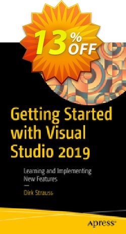 Getting Started with Visual Studio 2019 - Strauss  Coupon discount Getting Started with Visual Studio 2021 (Strauss) Deal. Promotion: Getting Started with Visual Studio 2021 (Strauss) Exclusive Easter Sale offer for iVoicesoft