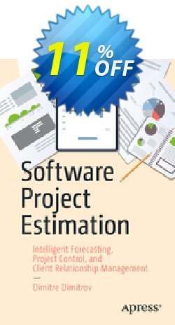 Software Project Estimation - Dimitrov  Coupon, discount Software Project Estimation (Dimitrov) Deal. Promotion: Software Project Estimation (Dimitrov) Exclusive Easter Sale offer for iVoicesoft