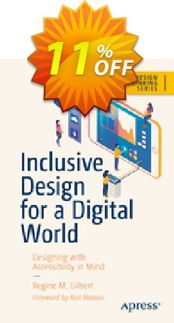 Inclusive Design for a Digital World - Gilbert  Coupon, discount Inclusive Design for a Digital World (Gilbert) Deal. Promotion: Inclusive Design for a Digital World (Gilbert) Exclusive Easter Sale offer for iVoicesoft