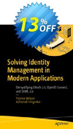 Solving Identity Management in Modern Applications - Wilson  Coupon, discount Solving Identity Management in Modern Applications (Wilson) Deal. Promotion: Solving Identity Management in Modern Applications (Wilson) Exclusive Easter Sale offer for iVoicesoft