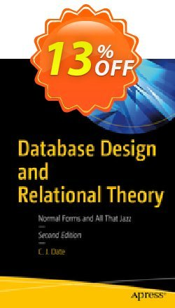 Database Design and Relational Theory - Date  Coupon, discount Database Design and Relational Theory (Date) Deal. Promotion: Database Design and Relational Theory (Date) Exclusive Easter Sale offer for iVoicesoft
