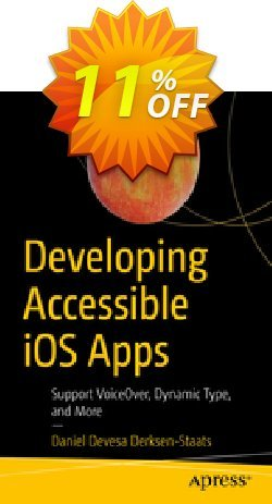 Developing Accessible iOS Apps - Derksen-Staats  Coupon, discount Developing Accessible iOS Apps (Derksen-Staats) Deal. Promotion: Developing Accessible iOS Apps (Derksen-Staats) Exclusive Easter Sale offer for iVoicesoft