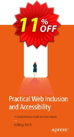 Practical Web Inclusion and Accessibility - Firth  Coupon, discount Practical Web Inclusion and Accessibility (Firth) Deal. Promotion: Practical Web Inclusion and Accessibility (Firth) Exclusive Easter Sale offer for iVoicesoft