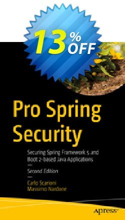 Pro Spring Security - Scarioni  Coupon, discount Pro Spring Security (Scarioni) Deal. Promotion: Pro Spring Security (Scarioni) Exclusive Easter Sale offer for iVoicesoft
