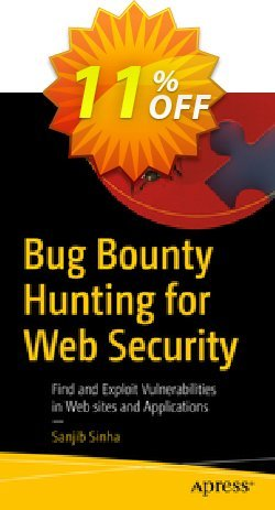 Bug Bounty Hunting for Web Security - Sinha  Coupon, discount Bug Bounty Hunting for Web Security (Sinha) Deal. Promotion: Bug Bounty Hunting for Web Security (Sinha) Exclusive Easter Sale offer for iVoicesoft