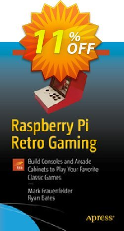 Raspberry Pi Retro Gaming - Frauenfelder  Coupon, discount Raspberry Pi Retro Gaming (Frauenfelder) Deal. Promotion: Raspberry Pi Retro Gaming (Frauenfelder) Exclusive Easter Sale offer for iVoicesoft
