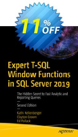 Expert T-SQL Window Functions in SQL Server 2019 - Kellenberger  Coupon discount Expert T-SQL Window Functions in SQL Server 2021 (Kellenberger) Deal. Promotion: Expert T-SQL Window Functions in SQL Server 2021 (Kellenberger) Exclusive Easter Sale offer for iVoicesoft