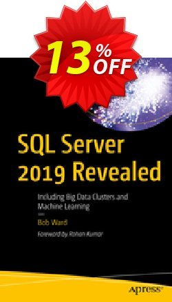 SQL Server 2019 Revealed - Ward  Coupon discount SQL Server 2021 Revealed (Ward) Deal. Promotion: SQL Server 2021 Revealed (Ward) Exclusive Easter Sale offer for iVoicesoft