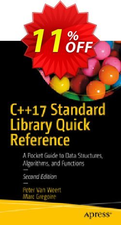 C++17 Standard Library Quick Reference - Van Weert  Coupon, discount C++17 Standard Library Quick Reference (Van Weert) Deal. Promotion: C++17 Standard Library Quick Reference (Van Weert) Exclusive Easter Sale offer for iVoicesoft
