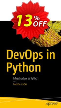 DevOps in Python - Zadka  Coupon discount DevOps in Python (Zadka) Deal - DevOps in Python (Zadka) Exclusive Easter Sale offer for iVoicesoft