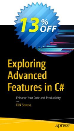 Exploring Advanced Features in C# - Strauss  Coupon discount Exploring Advanced Features in C# (Strauss) Deal - Exploring Advanced Features in C# (Strauss) Exclusive Easter Sale offer for iVoicesoft