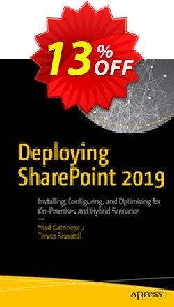 Deploying SharePoint 2019 - Catrinescu  Coupon discount Deploying SharePoint 2021 (Catrinescu) Deal. Promotion: Deploying SharePoint 2021 (Catrinescu) Exclusive Easter Sale offer for iVoicesoft