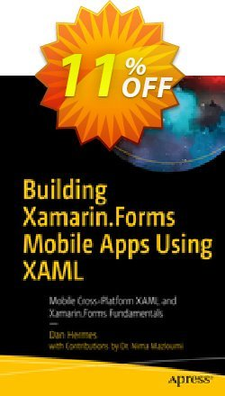 Building Xamarin.Forms Mobile Apps Using XAML - Hermes  Coupon, discount Building Xamarin.Forms Mobile Apps Using XAML (Hermes) Deal. Promotion: Building Xamarin.Forms Mobile Apps Using XAML (Hermes) Exclusive Easter Sale offer for iVoicesoft
