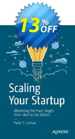 Scaling Your Startup - Cohan  Coupon, discount Scaling Your Startup (Cohan) Deal. Promotion: Scaling Your Startup (Cohan) Exclusive Easter Sale offer for iVoicesoft