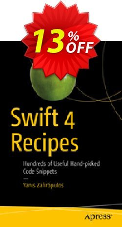 Swift 4 Recipes - Zafirópulos  Coupon, discount Swift 4 Recipes (Zafirópulos) Deal. Promotion: Swift 4 Recipes (Zafirópulos) Exclusive Easter Sale offer for iVoicesoft